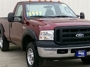 2006 Red Ford F250 Sd Reg Cab