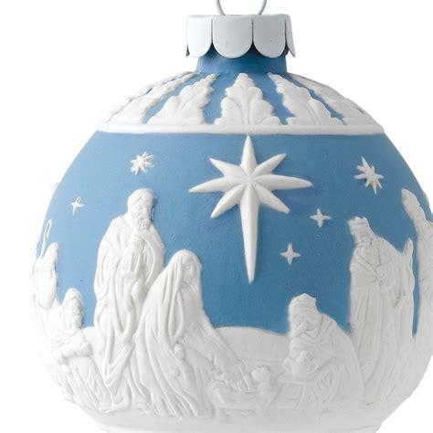 wedgwood nativity ball christmas ornament 2016 wedgwood
