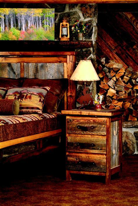 log cabin style bedroom furniture pin by lights in the northern sky on western decor cabin