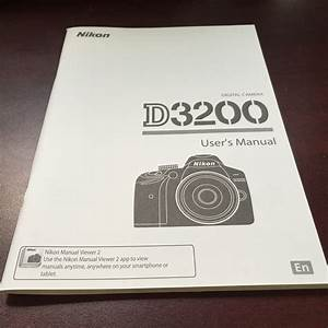 Nikon D3200 Digital Camera User U0026 39 S Manual Guide Book Brand