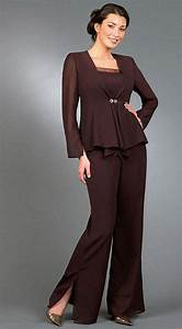 free shipping long sleeves with jacket empire mother of With dress pant suits for weddings