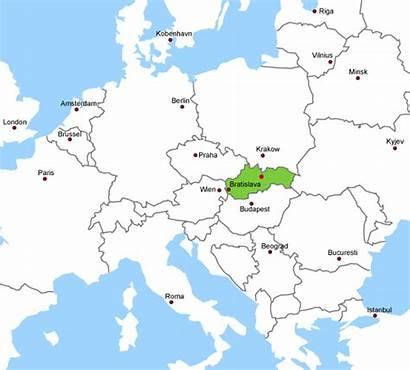 Europa Slovensko Zaujimavosti Mapa Stredna Sk Webnode