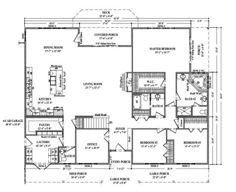 images  floorplans ranch  pinterest craftsman clay center  ranch style house