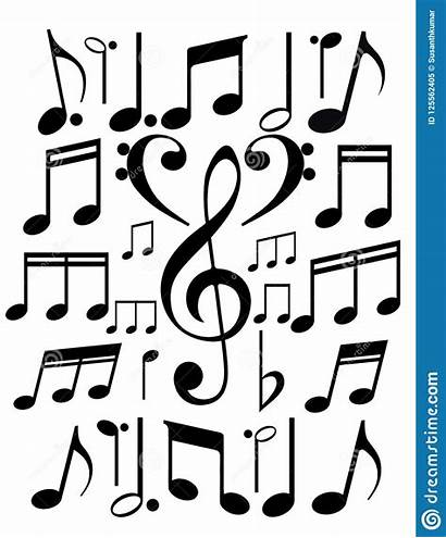 Notes Illustration Melody Background Projects Isolated Vector