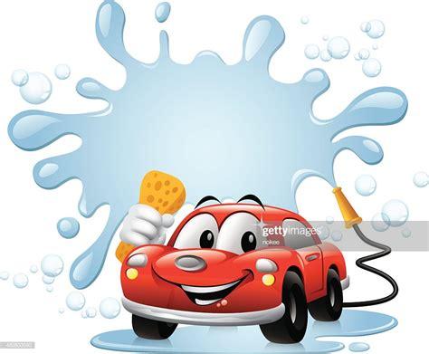 Cartoon Car Car Wash Vector Art