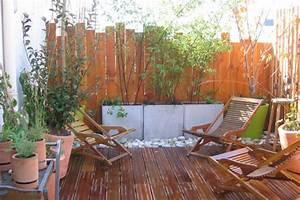 Decoration Terrasse En Bois : rouge amande ~ Melissatoandfro.com Idées de Décoration