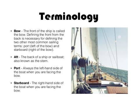 Stern Of A Boat Is Called by Sailing Is Easy Tips From Eric Vorm