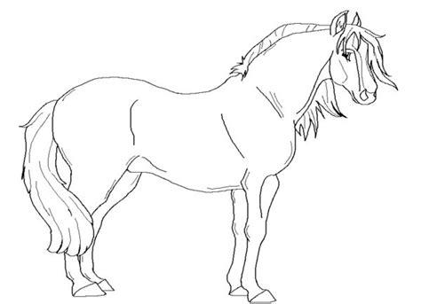 Kleurplaat Paardenhoofden by Paarden Kleurplaten Dieren Kleurplaten 187 Animaatjes Nl