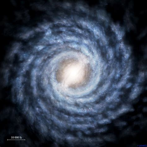 A Map Of Your Galaxy The Milky Way Nero´s Worldvision