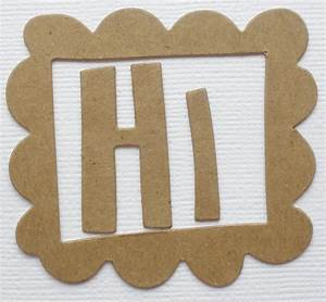 1quot 15quot cute font alphabet letters bare chipboard die With chipboard letters