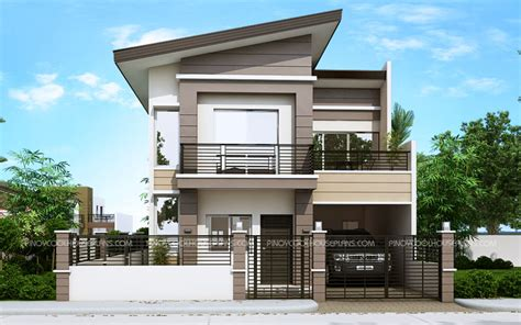 A Simple Modern Home With A Lot Of Personality Is For A And Their by Mateo Four Bedroom Two Story House Plan House Plans