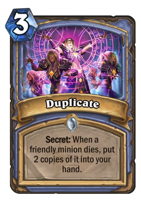 Hearthstone Deck Type Definitions by Duplicate Hearthstone Card