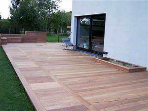 installer une terrasse en bois comment installer une With installer une terrasse en composite