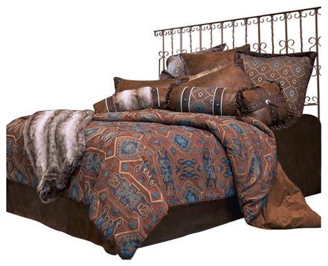 saguaro desert bedding set king southwestern