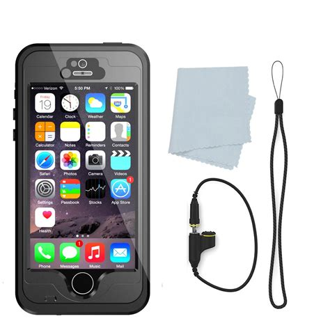 waterproof iphone 5s punkcase studstar black apple iphone 5s 5 waterproof