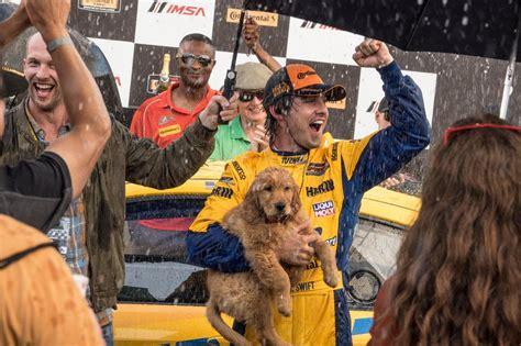 art  racing   rain review dogs life