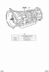 Toyota 4runner Automatic Transmission  Assembly  Atm