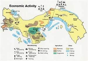 Mapa de Actividad Económica de Panamá - mapa.owje.com