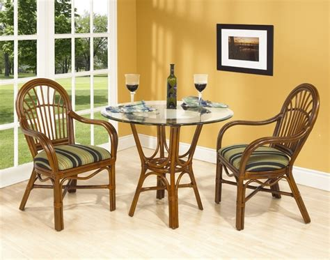 rattan kitchen furniture amarillo rattan cafe table set in mahog