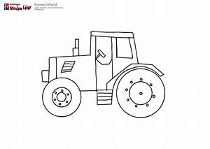 Pics For > Tractor Drawing