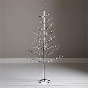 Buy John Lewis Pre Lit Snowy Twig Christmas Tree White
