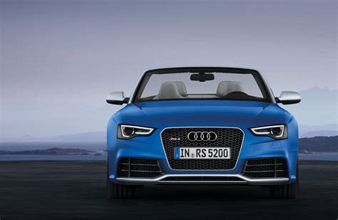 audi rs cabriolet  cartype
