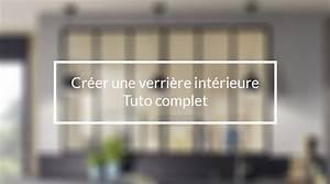 Fabriquer Une Mezzanine Soi Même : cr er soi m me une verriere d 39 int rieur en bois tuto ~ Premium-room.com Idées de Décoration