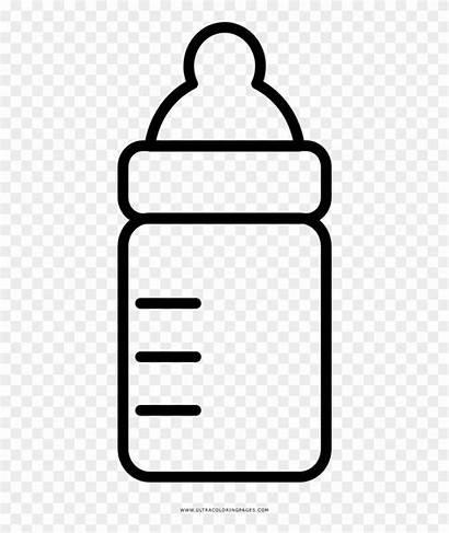 Bottle Coloring Colorear Para Biberon Clipart Shower