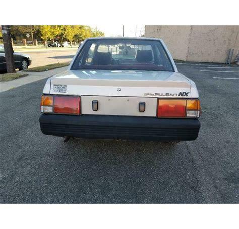 Datsun Pulsar by Datsun Pulsar Nx 1983 Classic Datsun Pulsar 1983 For Sale