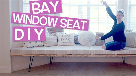 diy   bay window seat house update milabu youtube