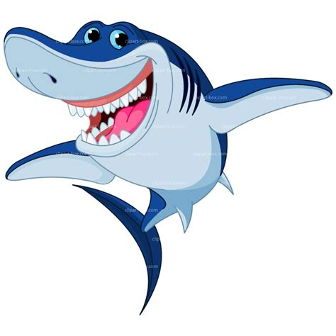 Shark Clip Smiling Shark Clipart Clipart Panda Free Clipart Images