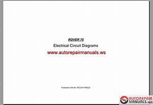 Rover 75 Electrical Circuit Diagrams