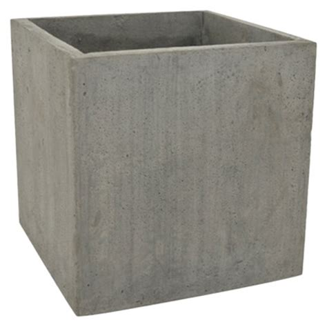 square concrete planter fever modern outdoor planters pots