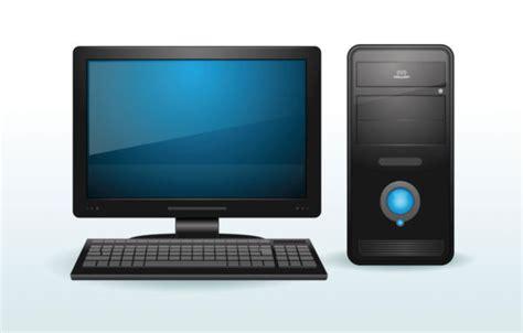 Vector Image Desktop by Vector Image Of A Desktop Computer Stock Photo Free