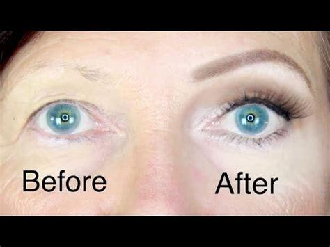 hooded eyes makeup  mature skin stephanie lange youtube