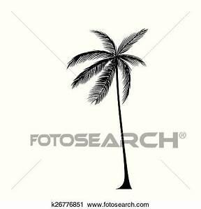 Palme Schwarz Weiß : palme schwarz silhouette freigestellt hin ber wei clipart k26776851 ~ Eleganceandgraceweddings.com Haus und Dekorationen