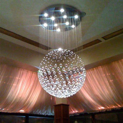 modern sphere chandelier ceiling light
