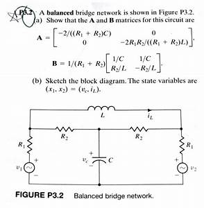 Solved  A Balanced Bridge Network Is Shown In Figure P3 2