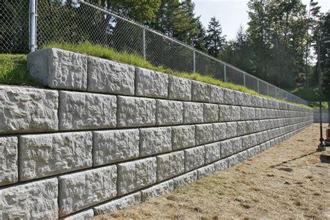 pre cast patio retaining wall blocks  deso