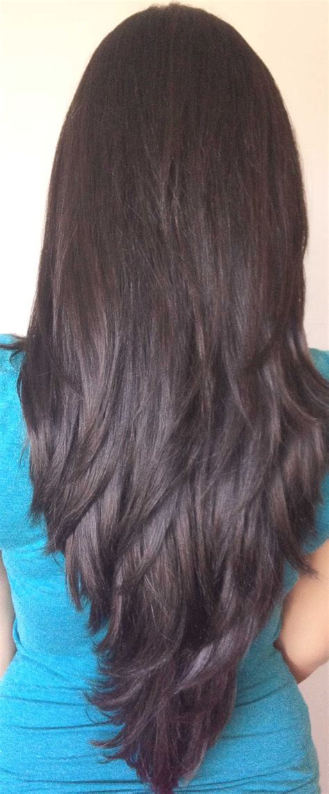 step cut hairstyle  long hair httpwwwgohairstyles