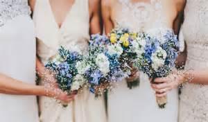 blue wedding flowers inspiration blue wedding bouquets