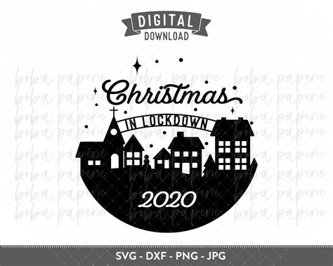 Free printable snowflake templates, patterns, stencils, and designs that you can use for christmas ornaments, decorations, or as coloring pages. 2020 Christmas Ornament Bundle SVG (940612) | Cut Files ...