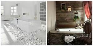 deco salle de bain avec pierre With salle de bain design avec pierres décoratives jardin