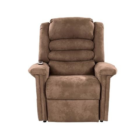 soother light brown power lift recliner by catnapper el