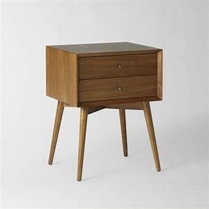 Mid-Century Bedside Table - Acorn west elm AU