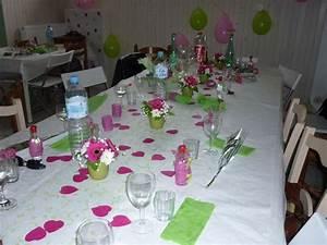 decoration maison table bapteme With travailler dans la decoration