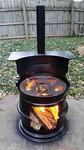 Fabriquer Un Barbecue Avec Un Bidon : 13 id es de barbecues fabriquer soi m me barbecue fabriquer soi meme et roues de voiture ~ Dallasstarsshop.com Idées de Décoration