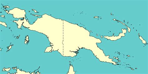 gj blogs map  indonesia  papua  guinea