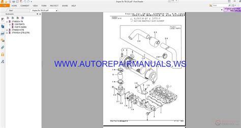 takeuchi tb125 parts manual be5z009 auto repair manual forum heavy equipment forums