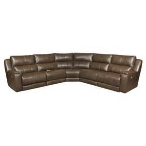 southern motion dazzle reclining sectional sofa with 5